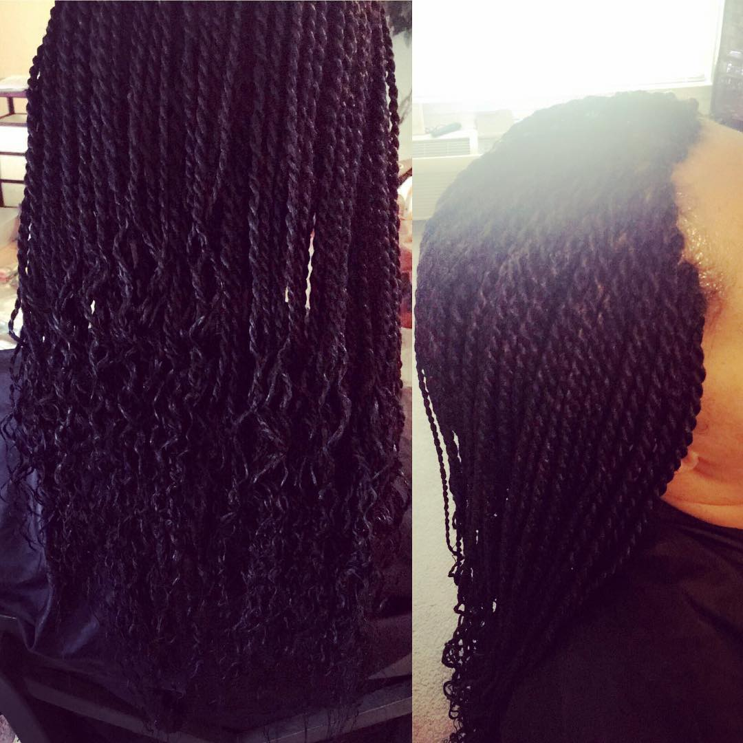 Box braid hair salon in National Harbor MD
