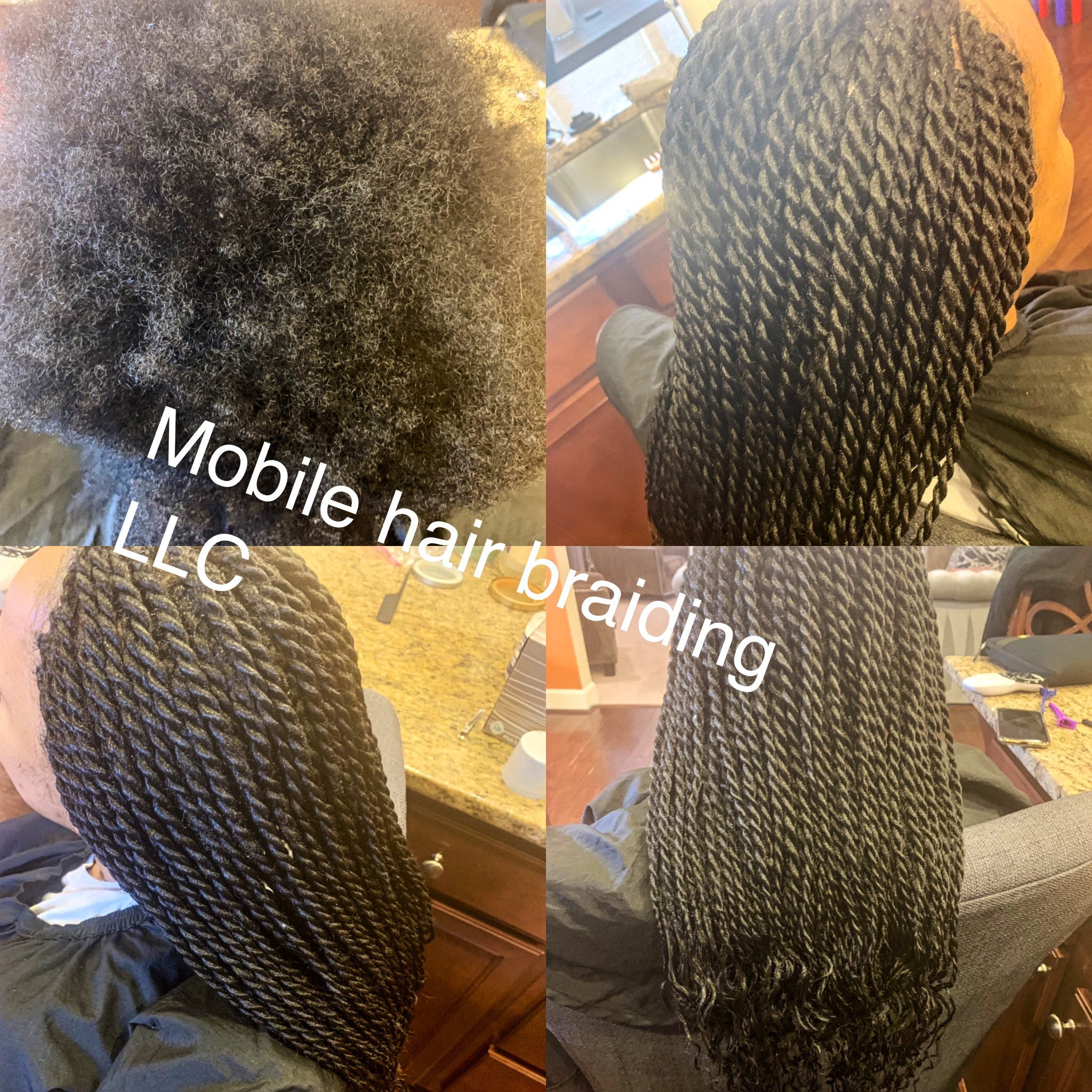 Senegalese Twist completed in Clinton, MD