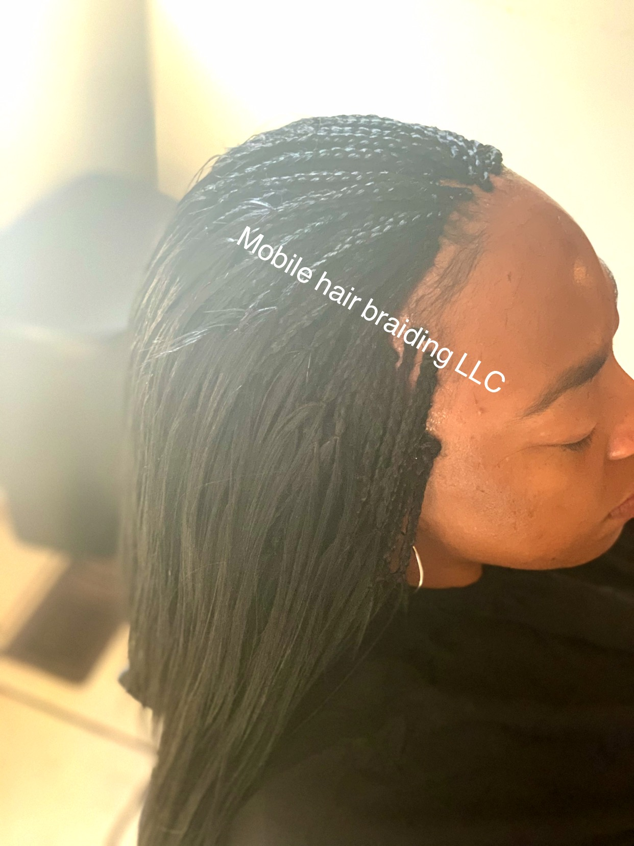 Micro Braids completed in Baltimore, MD