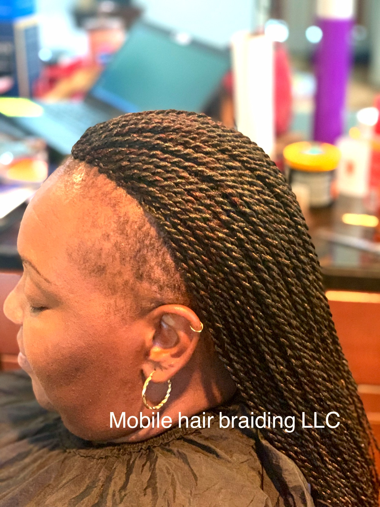 Small Senegalese Twist completed in Bowie, MD